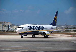 Ryanair pilot has outburst on Malaga flight