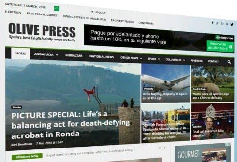 OLIVE PRESS: Website www.theolivepress.es