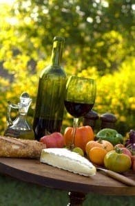 Food and wine 196x300 - How to stage your home in Spain for a viewing