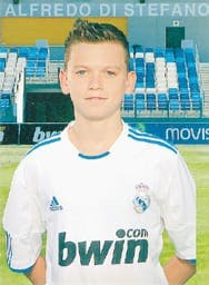 Real Madrid deal for young Scottish footballer