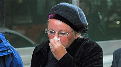 Fraud MP Margaret Moran weeps in court