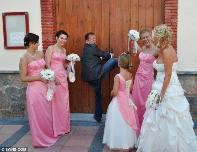 Spanish priest shuns Brits on wedding day thumbnail