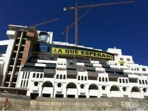 algarrobico greenpeace squat