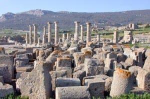 The Roman town of Baelo Claudia