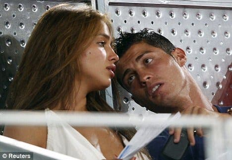 Ronaldo left red-faced by gaffe