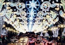 malaga christmas lights