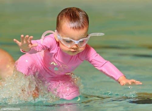Spanish water baby