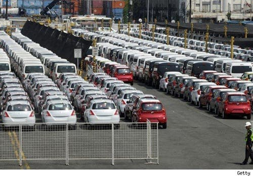 Spanish car sales slump