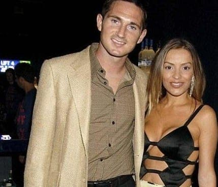 Life not so tweet for Elen Rives and Frank Lampard in festive spat!