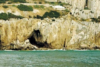 Cave man plan for Gibraltar
