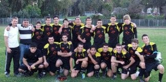 axarquia rugby team photo