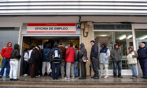 Spanish unemployment hits record high