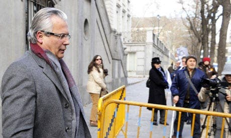Garzon found guilty of phone tapping