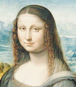 Mona Lisa's Spanish twin