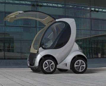 First foldable car produced in Spain