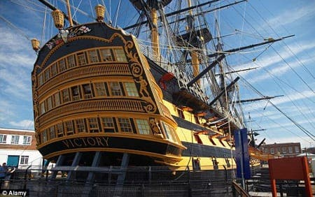 Fiesta on the HMS Victory