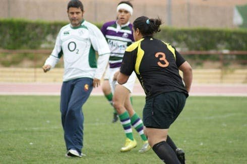 Rugby referee loses the plot
