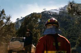 Firefighters started Genal Valley blaze