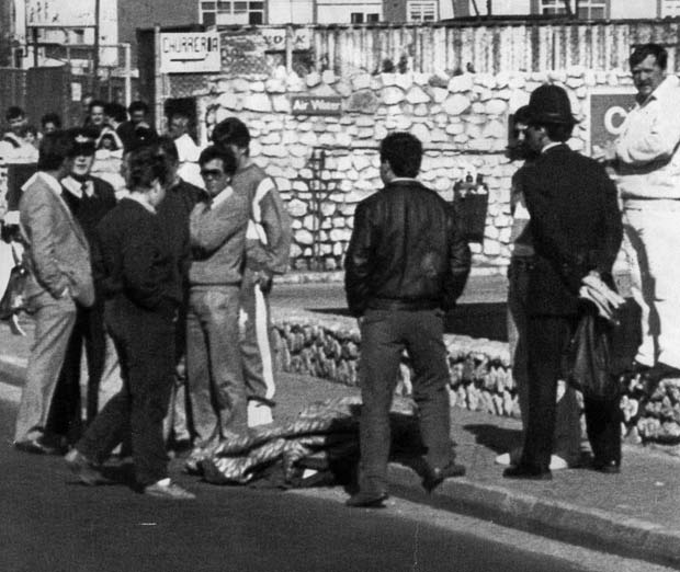 IRA shooting probe in Gibraltar