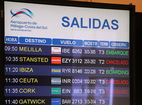 Spanish flights hit by UK air traffic control computer glitch