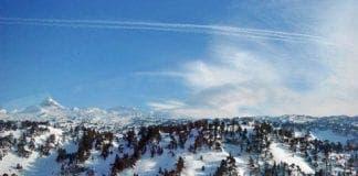 skiing spain arette