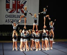 Male cheerleaders sought in Gibraltar