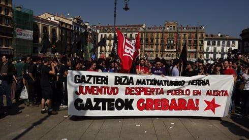 Solidarity in Pamplona