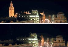 lights out in sevilla for earth hour