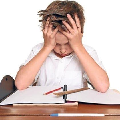 Fine schools for illiterate kids