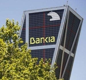 Bankia shares suspended