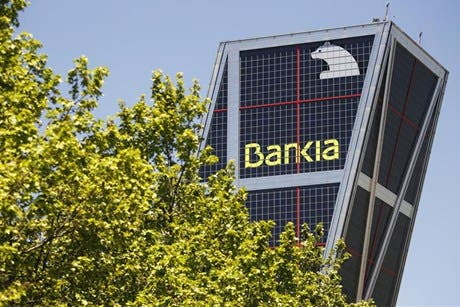 Bankia shares suspended over possible bailout request
