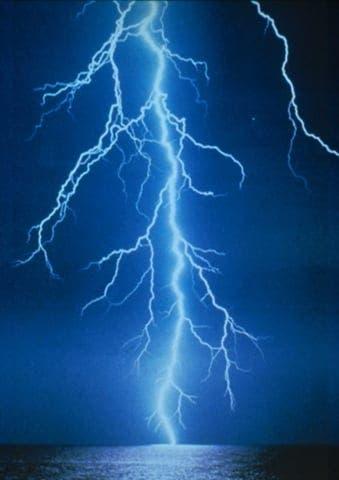 Man hit by lightning suffers burnt scrotum