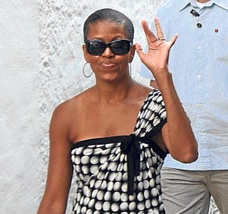 The morning Michelle Obama changed Marbella forever