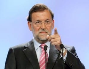 Don't point fingers: At Rajoy