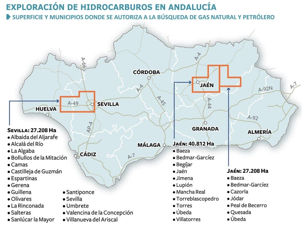 Green groups slam 'dead end' project to prospect for oil in inland Andalucia