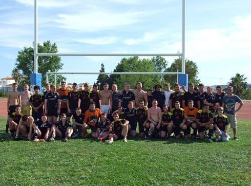 International rugby fiesta!