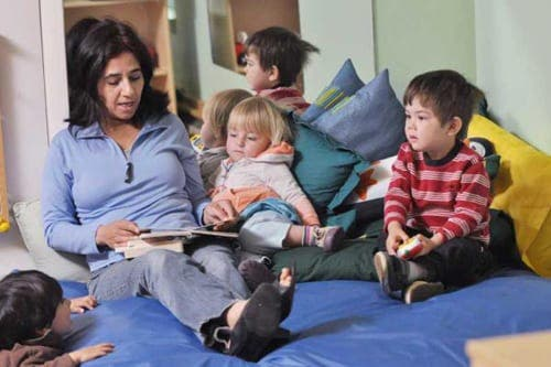 Child care costs crippling UK families