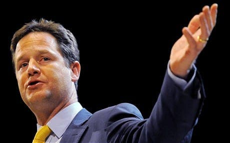 Private education is 'corrosive' to UK society, claims Clegg