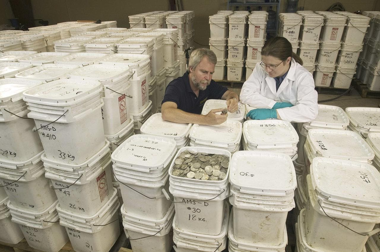 Spain reclaims lost treasure