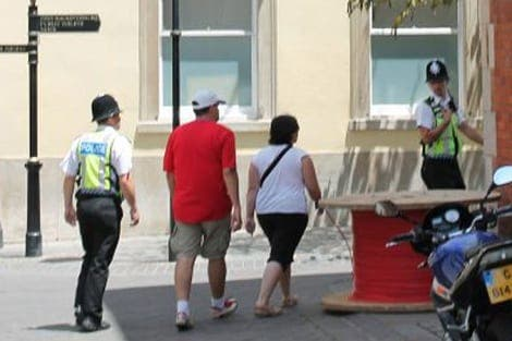 Spaniards escorted from Gibraltar 'for own safety'