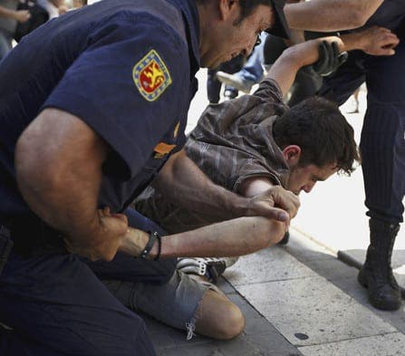 Nine per cent increase in Britons arrested in Spain