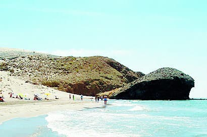 Almeria under fire for black flag beaches