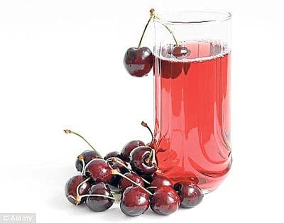 Cherry juice suggested as aid to insomnia
