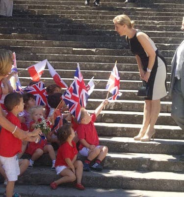 Royal trip to Gibraltar was by no means rocky