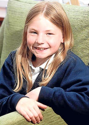 Schoolgirl's lunchtime blog causes controversy