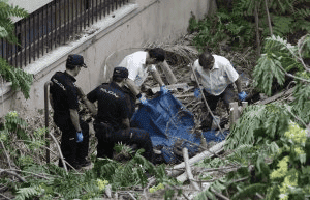 Mummified body discovered near Malaga hospital