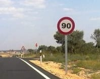 Speed limit on Spanish B roads to be reduced to 90 km/h