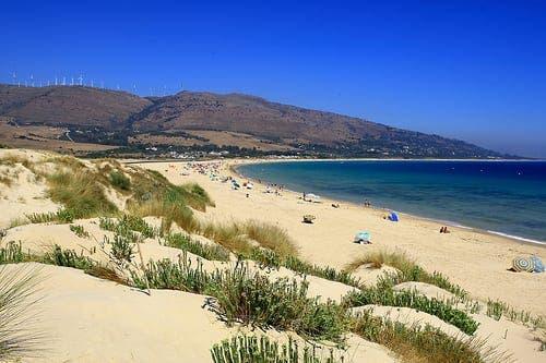 Battle for Spain's beaches