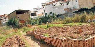 El Caminito urban garden in Malaga