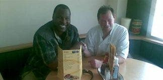 Tony TNT Tucker visits marlows